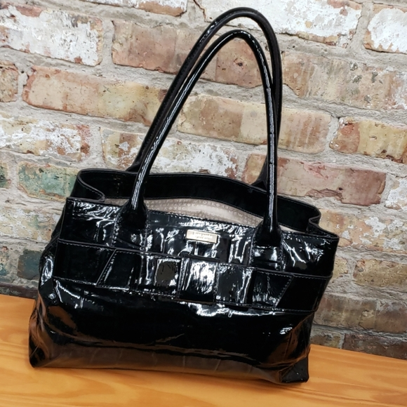 kate spade Handbags - Kate Spade black patent leather bag
